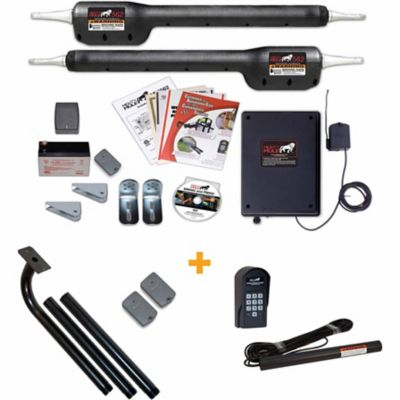 mighty mule eiick562 automatic gate opener estate combo kit