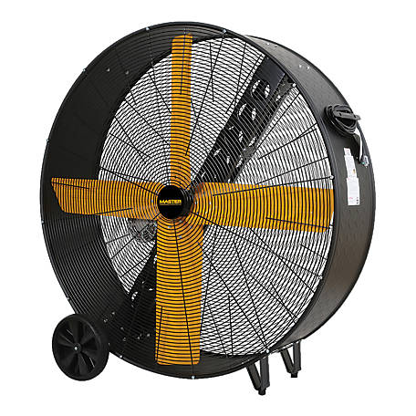 Master MAC-48-BDF High Capacity Belt-Drive Barrel Fan, 48 in.