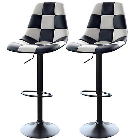 AmeriHome 2-Piece Racing Bar Chair Set
