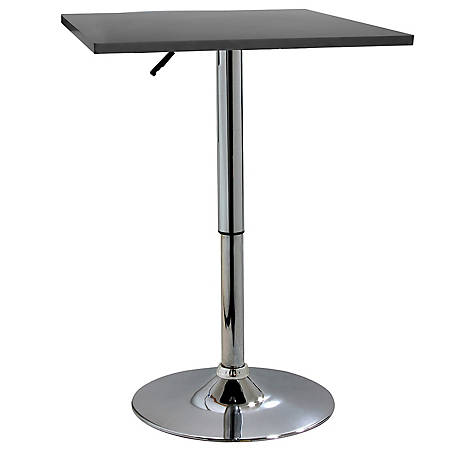 AmeriHome Adjustable Height Wood Top Square Bistro Table At Tractor Supply  Co.
