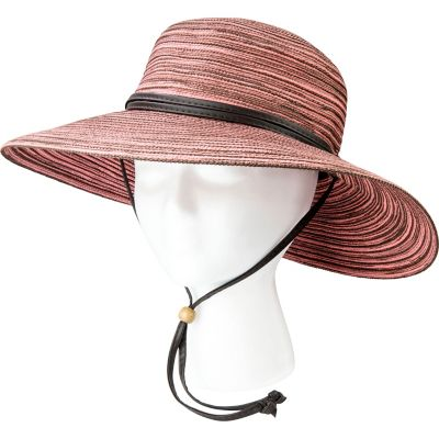Sloggers Wide Brim Braided Sun Hat with Wind Lanyard - 1220449 at ... 424767e53ec1