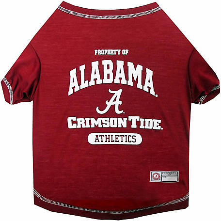 Pets First Co Alabama Crimson Tide Pet Tee Shirt