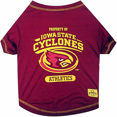 Pets First Co Iowa State Cyclones Pet Tee Shirt
