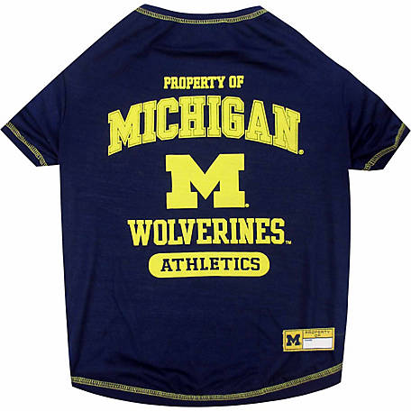 Pets First Co Michigan Wolverines Pet Tee Shirt