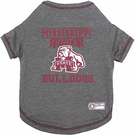 Pets First Co Mississippi State Bulldogs Pet Tee Shirt