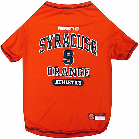 Pets First Co Syracuse Orange Pet Tee Shirt