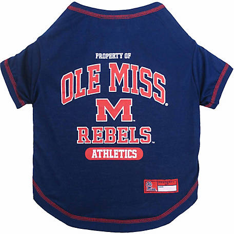 Pets First Co Ole Miss Rebels Pet Tee Shirt
