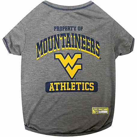 Pets First Co West Virginia Mountaineers Pet Tee Shirt