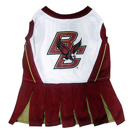 Pets First Co. Boston College Eagles Pet Cheerleader Dress