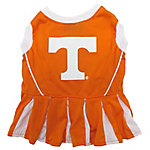 Pets First Co. Tennessee Volunteers Pet Cheerleader Dress