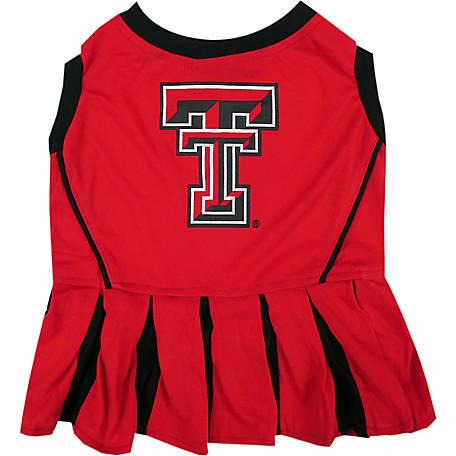 bfa2e3f8c Pets First Co. Texas Tech Red Raiders Pet Cheerleader Dress