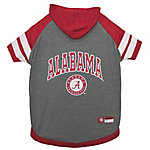 Pets First Co. Alabama Crimson Tide Pet Hoody Tee Shirt