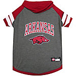 Pets First Co. Arkansas Razorbacks Pet Hoody Tee Shirt