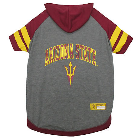 Pets First Co. Arizona State Sun Devils Pet Hoody Tee Shirt