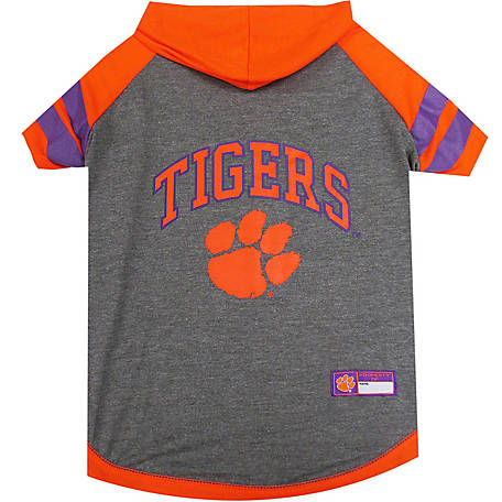 Pets First Co. Clemson Tigers Pet Hoody Tee Shirt