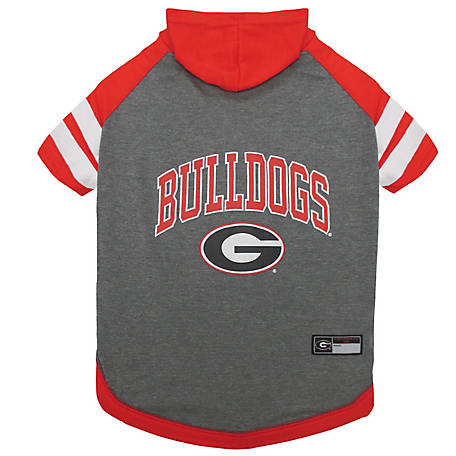 Pets First Co. Georgia Bulldogs Pet Hoody Tee Shirt