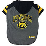 Pets First Co. Iowa Hawkeyes Pet Hoody Tee Shirt