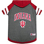Pets First Co. Indiana Hoosiers Pet Hoody Tee Shirt