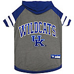 Pets First Co. Kentucky Wildcats Pet Hoody Tee Shirt