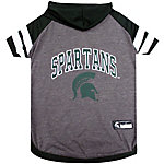 Pets First Co. Michigan State Spartans Pet Hoody Tee Shirt