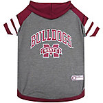 Pets First Co. Mississippi State Bulldogs Pet Hoody Tee Shirt