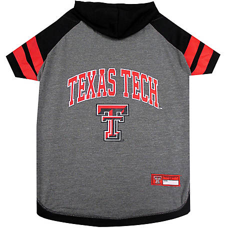 e9efe935d Pets First Co. Texas Tech Red Raiders Pet Hoody Tee Shirt