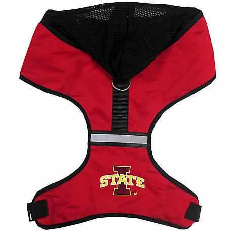 Pets First Co. Iowa State Cyclones Hooded Pet Harness