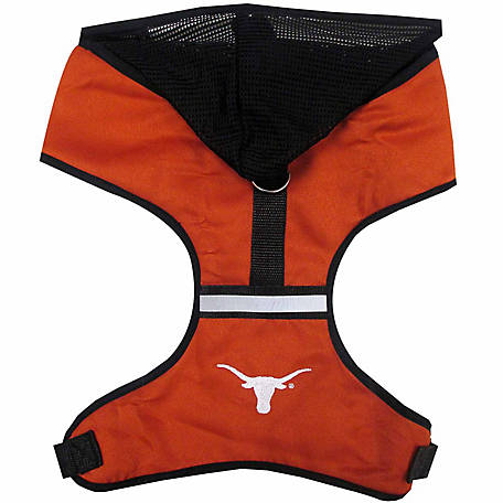 Pets First Co. Texas Longhorns Hooded Pet Harness