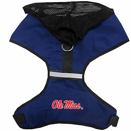Pets First Co. Ole Miss Rebels Hooded Pet Harness