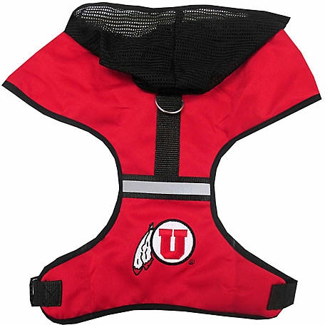 Pets First Co. Utah Utes Hooded Pet Harness