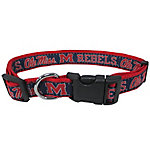 Pets First Co. Ole Miss Rebels Pet Collar