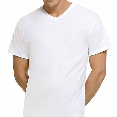cf3de9a91aa Hanes Men s Big Tall V-Neck T-Shirt