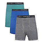 Hanes Men's Big Boxer Brief, Pack of 4