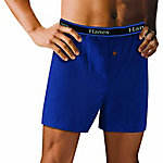Hanes Men's Big Knit Boxer, Pack of 3