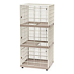 Iris USA 3-Tier Cat Cage, Tan