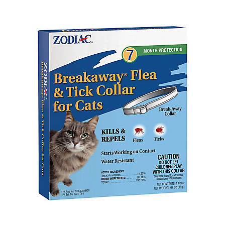 Zodiac Breakaway Flea & Tick Cat Collar