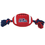 Pets First Co. Ole Miss Rebels Pet Football Toy