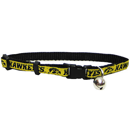 Pets First Co. Iowa Hawkeyes Cat Collar