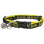 Pets First Co. Michigan Wolverines Cat Collar