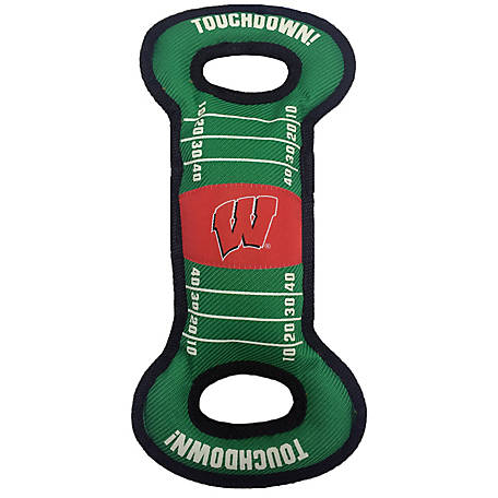 Pets First Co. Wisconsin Badgers Pet Field Toy
