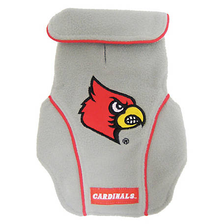 Pets First Co. Louisville Cardinals Pet Fleece Vest