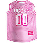 Pets First Co Connecticut Huskies Pet Pink Basketball Jersey