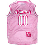 Pets First Co. Louisville Cardinals Pet Pink Basketball Jersey