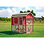 Precision Pet Products Walk-In Red Barn Chicken Coop