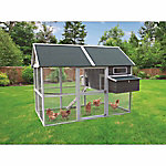 Innovation Pet Big Green Walk-In Hen House, Up to 18 Chickens