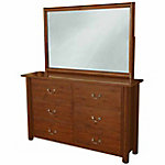 Leigh Country Six-Drawer Dresser