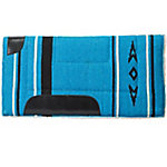 Weaver Leather Fleece Lined Acrylic Saddle Pad, Blue