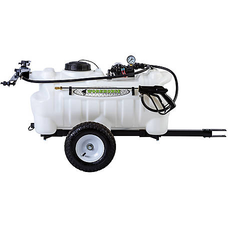 WorkHorse Sprayers 25 gal. Deluxe Trailer Sprayer, LG25DTS