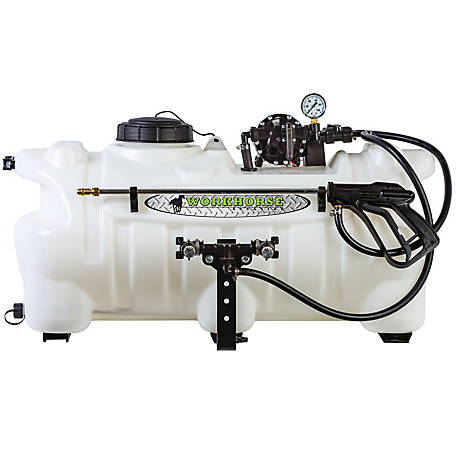 WorkHorse Sprayers 25 Gallon Deluxe ATV Boomless Sprayer