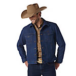 Wrangler Western Unlined Denim Jacket
